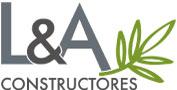L&A Constructores Logo