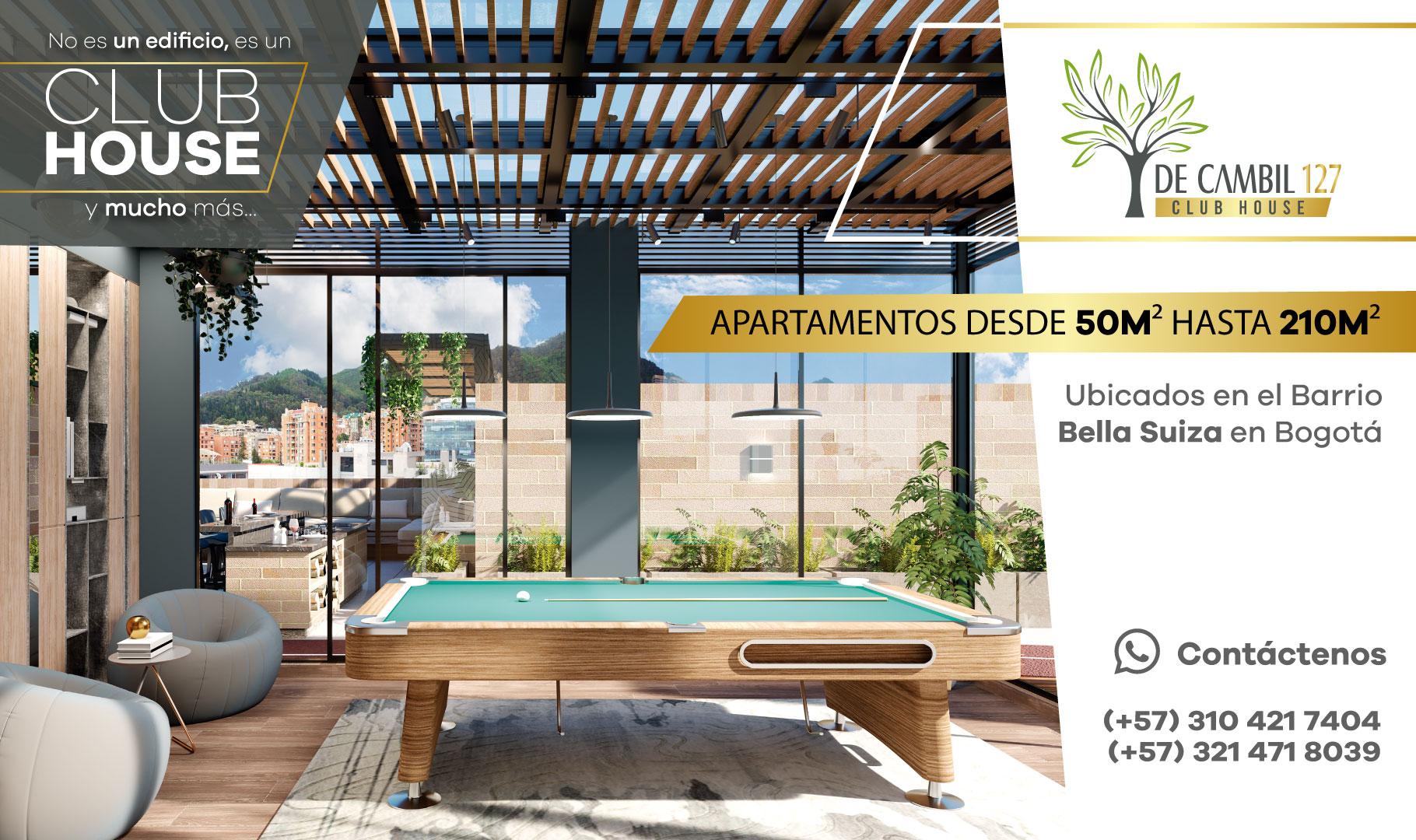 127 club house Bella Suiza Bogotá