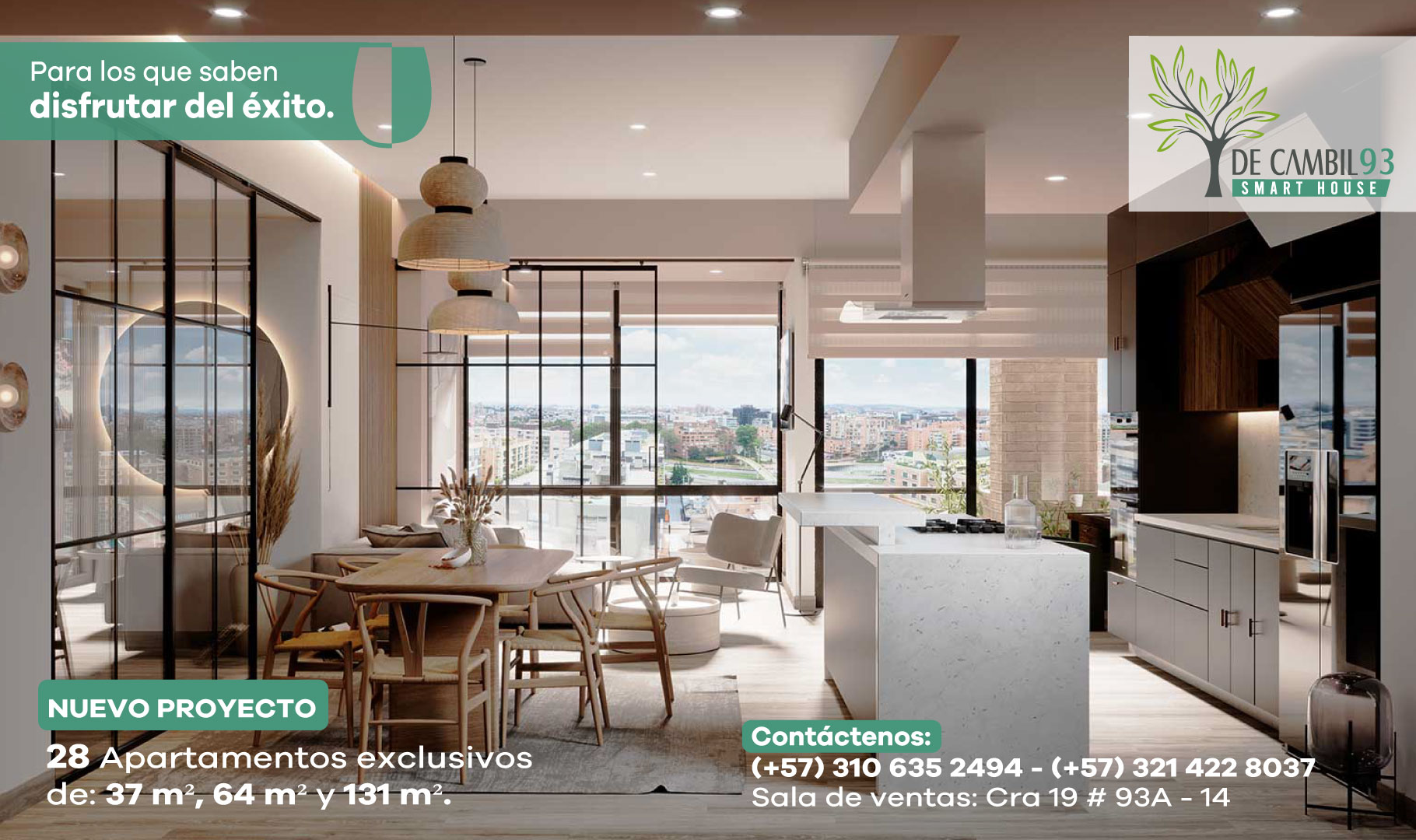93 smart House Chicó Bogotá